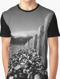 Murlough Beach View Mono Graphic T-Shirt