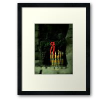 Christmas At The Castle ~ Part One Framed Print