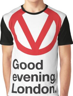 Good evening, London Graphic T-Shirt