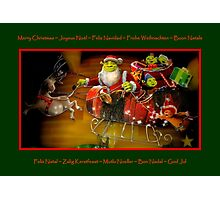 Merry Christmas To All !!! Photographic Print