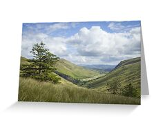 Glengesh Pass, Co. Donegal Greeting Card