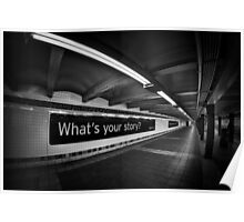 What's Your Story? Poster