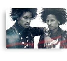 Larry et Laurent/ Les Twins  Metal Print