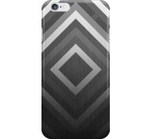 Gray diamonds iPhone Case/Skin