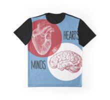 Hearts and Minds Graphic T-Shirt