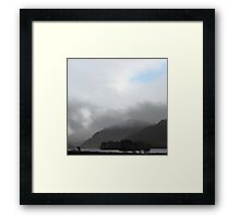 There's always blue sky Framed Print
