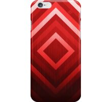 Red Diamonds iPhone Case/Skin
