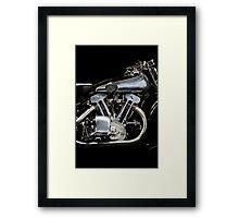 Brough Superior SS 100 Engine Framed Print