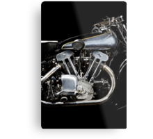 Brough Superior SS 100 Engine Metal Print