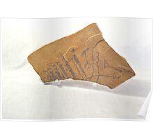 Indian Art on Sandstone II Poster