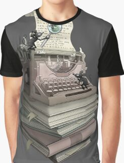 Bookworm Graphic T-Shirt