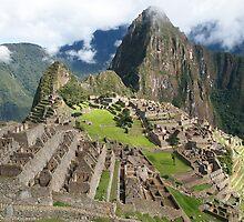 Mystical Machu Picchu, Peru by Natasha M