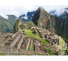 Mystical Machu Picchu, Peru Photographic Print