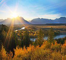 Snake River Sunset, Wyoming, USA by Jennifer Bailey