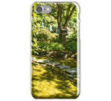 Stepping Stones, Butchart Garden iPhone Case/Skin