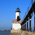 Michigan City Light by Joy Fitzhorn
