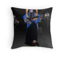 Portrait of a City - New Orleans by Night Throw Pillow