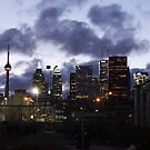 Toronto Christmas Eve by PPPhotoArt