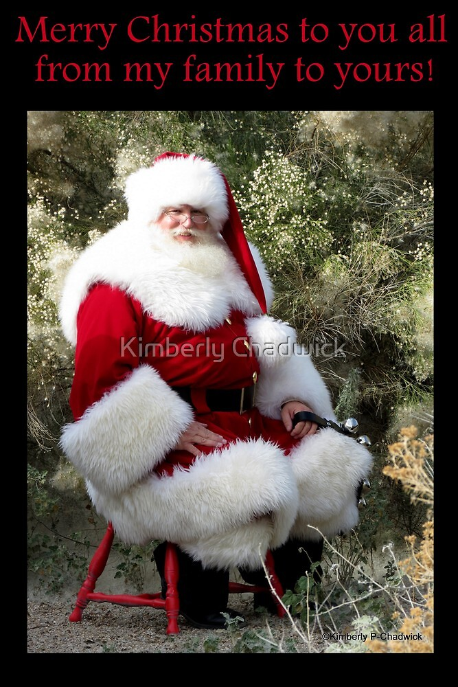 Sonoran Santa Clause by Kimberly Chadwick