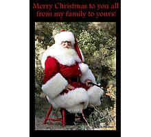 Sonoran Santa Clause Photographic Print