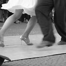 Lovers in Tango, Argentina by Natasha M