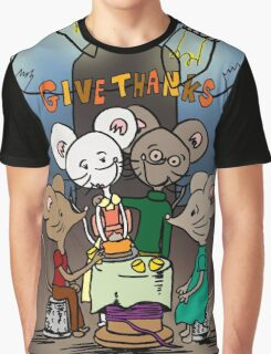 Give Thanks Graphic T-Shirt
