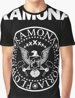 Ramona - White Graphic T-Shirt