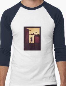 Welcome Home Men's Baseball ¾ T-Shirt
