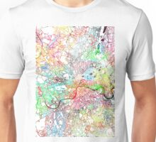 London map  painting England Unisex T-Shirt
