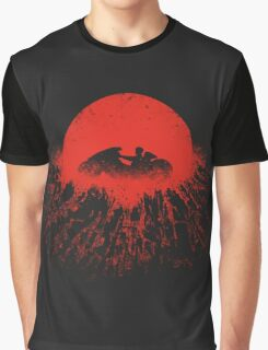 Winds over Neo-Tokyo Graphic T-Shirt
