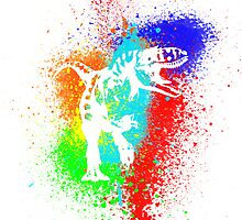 T-Rex II iPhone Case by Josh Marten