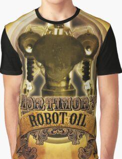 Mortimors Robot Oil. Graphic T-Shirt