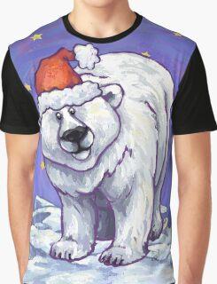 Polar Bear Christmas Graphic T-Shirt