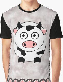Little Cute Cow Graphic T-Shirt