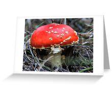 Mario Kart Mushroom Greeting Card