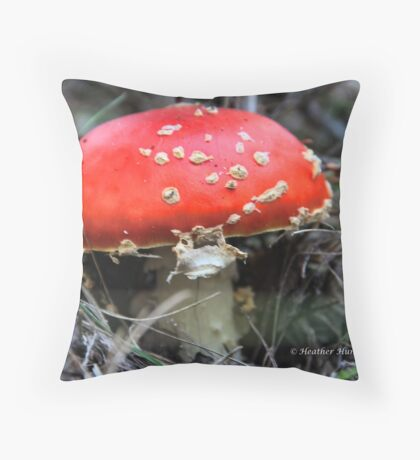 Mario Kart Mushroom Throw Pillow