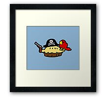 Pie Pirate Framed Print