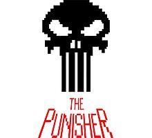 8-bit punisher Photographic Print