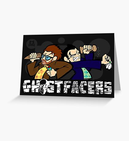 Ghostfacers! Greeting Card