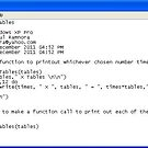 251211a - Lua 12 x Times Tables program by paulramnora