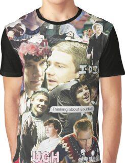 sherlock & john Graphic T-Shirt