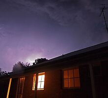 Storm over the house by patricksharp