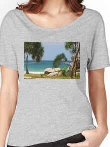 Awesome Beach of Indonesia Women's Relaxed Fit T-Shirt
