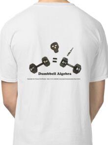 Dumbbell Algebra Classic T-Shirt