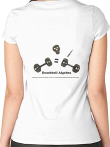 Dumbbell Algebra Women's Fitted Scoop T-Shirt