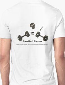 Dumbbell Algebra T-Shirt