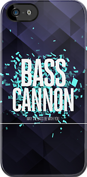 Bass Cannon | Dubstep iPhone Covers by Moe Pike Soe