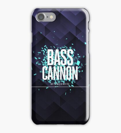 Bass Cannon   Dubstep iPhone Covers iPhone Case/Skin