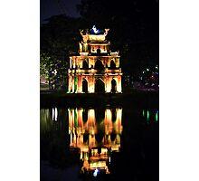 Hoan Kiem Lake reflection Photographic Print