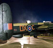 Avro Lancaster B.VII NX611 G-ASXX Floodlit by Colin Smedley